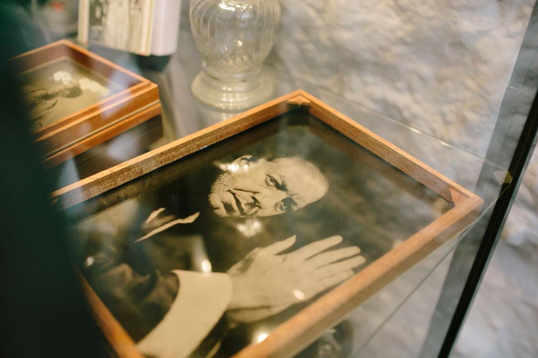 cuadro de fotografía antigua